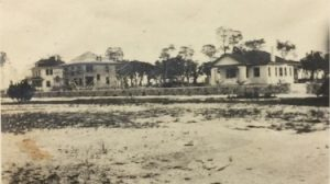 Homes on Brickell Avenue in 1910s
