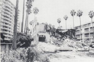 Demolition in September of 1988