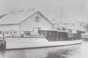 Fogal Boat Yard in 1937.