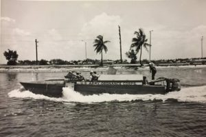 Boat built at MSC in 1958