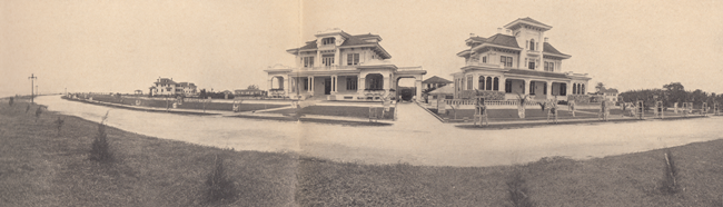 Chateau Reve and McGraw homes in 1920.