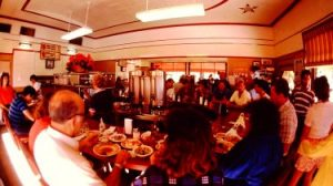 S&S Diner After History Tour in 1986