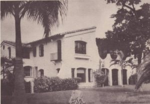 Front of La Casa Reposada in 1940.