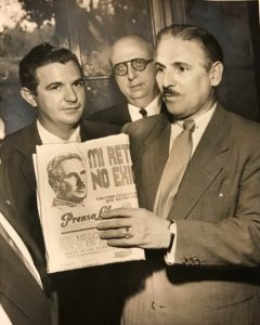 Carlos Prio Exiled in Miami in 1955.