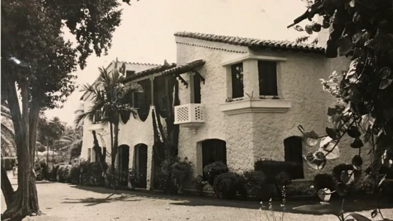 La Casa Reposada in 1955.