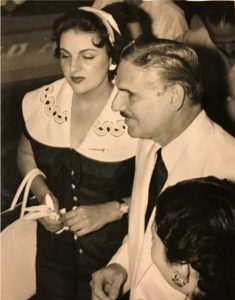 Carlos Prio and Wife in 1955.