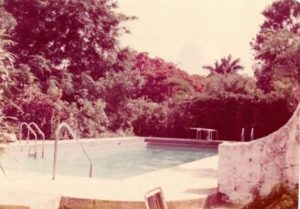 La Casa Reposada Pool in 1970s.