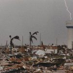 Homestead during Hurricane Andrew