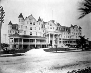 Halcyon Hall Hotel on January of 1906