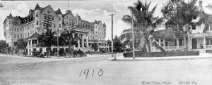 White Palace Hotel & Dr. Jackson Home in 1910