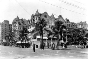 Halcyon Hall Hotel on April 1, 1922