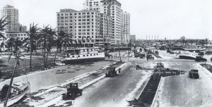 Biscayne Boulevard after 1926 Hurricane.