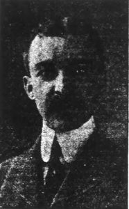 George Nolan in 1921.