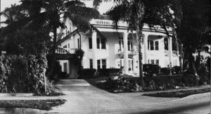 Nolan mansion in 1926.