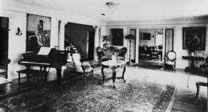 Interior of Nolan Home in 1926.
