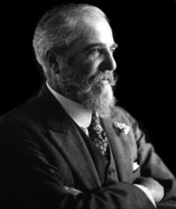 Portrait of Louis Comfort Tiffany.