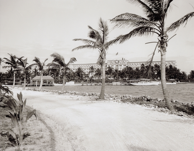 Royal Palm Hotel from Brickell Point in 1900.