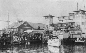 Elser Pier in 1917.