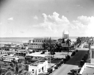 Elser Pier from Berni Apartments in 1920.