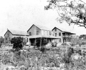 Peacock Inn in 1880.