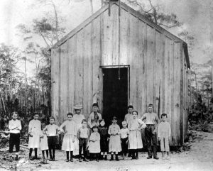 Sunday School in Coconut Grove in 1889
