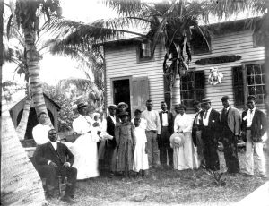 Black Bahamians in Coconut Grove in 1890s.