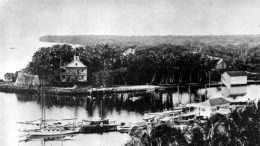 Brickell Point in 1898.