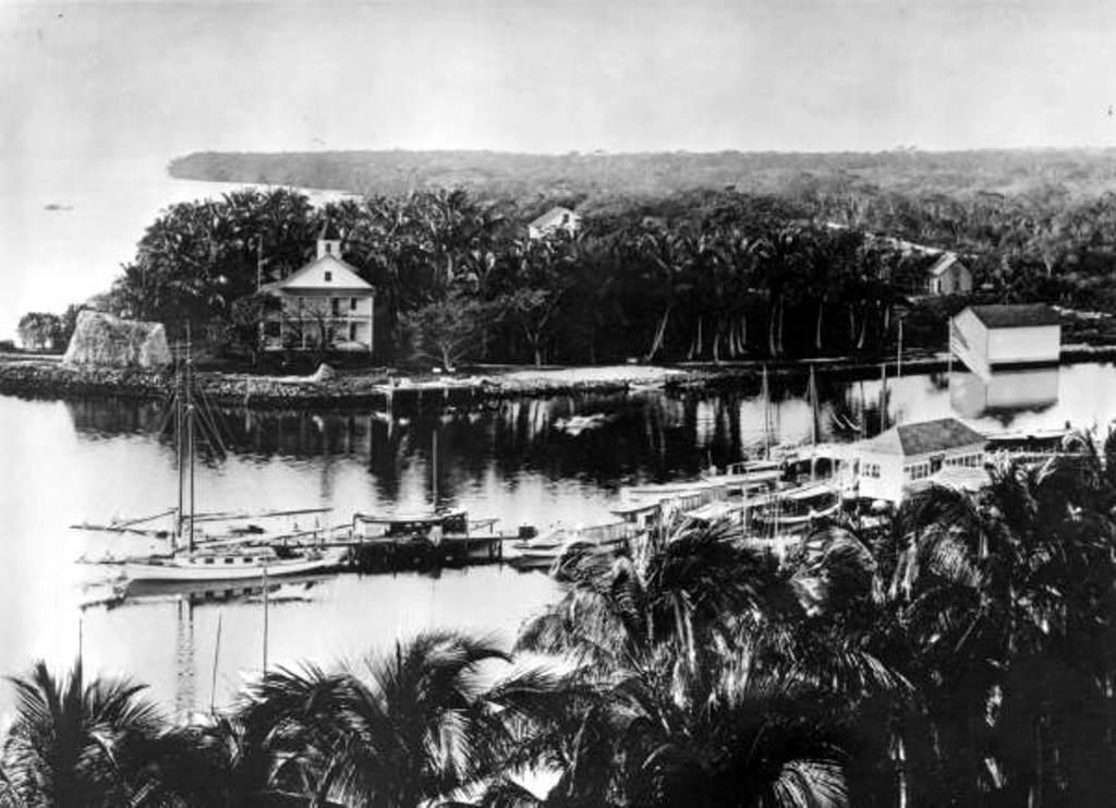 Brickell Point in 1898.