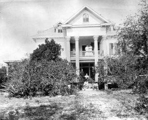 Brickell Family in 1900