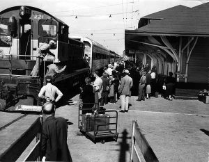 FEC Depot in downtown Miami in 1940s.