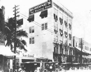 Burdines in 1912