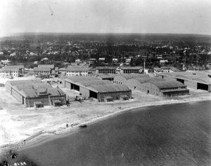 Dinner Key Naval Air Station in 1918