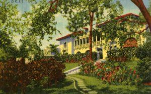 El Jardin Postcard (1936)