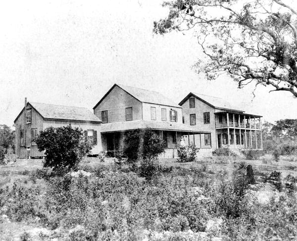 Peacock Inn in 1880s