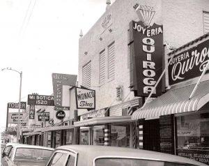 Calle Ocho in 1977.