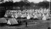 Tents in Miami for Soldiers in 1898