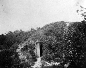 Remnants of Fort Brickell in 1900