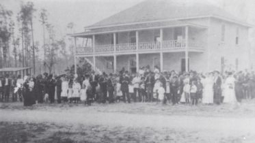 Silver Palm School House in 1911