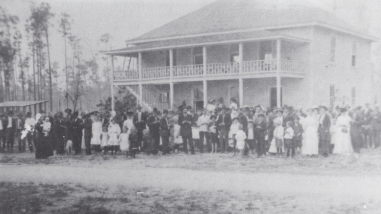 Silver Palm School House in 1911