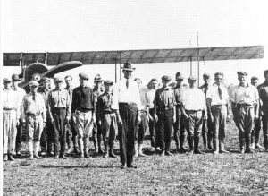 Curtiss Flight School in 1917.