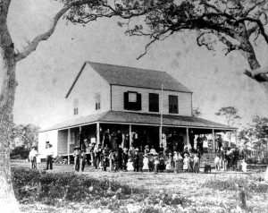 Peacock Inn in Coconut Grove in 1896