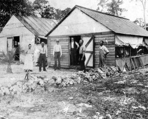 Boarding house in Miami in 1896