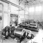 Miami Beach Electric Company turbine in 1922.
