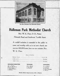Ad in Miami News on April 11, 1925