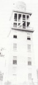 Water tower near Miami River in 1896.