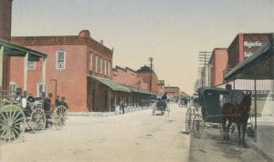 Avenue D in 1900.