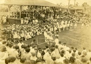 Moore Park during the first Palm Festival in 1933