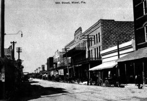 Twelfth (Flagler) Street in 1899
