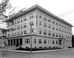 YMCA building at corner of NE First Street & NE Third Avenue in 1920.
