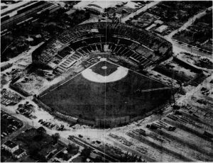 Miami Stadium in August of 1949